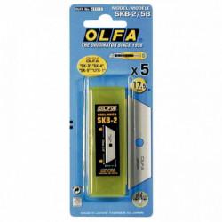 LAMES TRAPEZE OLFA 17.5 mm OLFA PQT5 6211