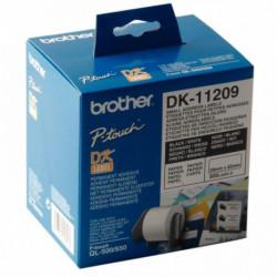 PETITES ETIQUETTES D'ADRESSAGE 29x62 MM POUR QL x800 BROTHER