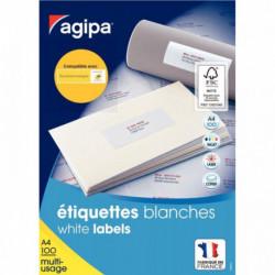 ETIQ MULTI-USAGE 210X297 PEFC BTE 100 AGIPA 119004 AGIPA 119004