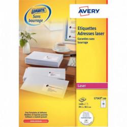 ETIQUETTE ADRESSE LA 991X381 RAPIDE BTE 1400 AVERY L7163-100