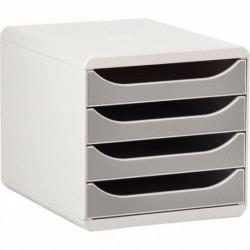 MODULE BIG BOX CAISSON 4 TIROIRS A4+ GRIS / GRIS