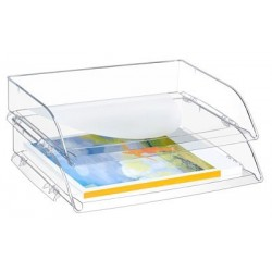 CORBEILLE COURRIER ITALIENNE CEPPRO CRISTAL