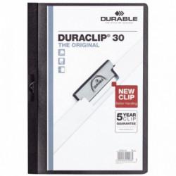 CHEMISE DURACLIP 3MM NOIR DURABLE 2200-01