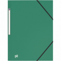 CHEMISE 3 RABATS MEMPHIS POLYPRO 5/10 INDECHIRABLE VERT REF223031 ELBA 10020114