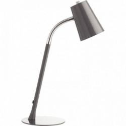 LAMPE FLUORESCENTE RETRO GRIS METAL UNILUX AMPOULE 12W REF-80249 400093692