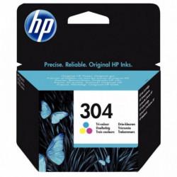 304 /CART HP 304 D'ENCRE TROIS COULEURS 100 PAGES N9K05AE-UUS HP