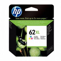 C2P07AE-UUS HP 62XL cartouche d'encre trois couleurs haute capacité pages HP