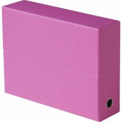 BOITE DE TRANSFERT FASTFLINE DOS 9CM 34X25,5 GRAINEE ROSE