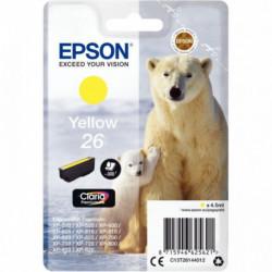 C13T26144010 CART P/EPSON 'OURS POLAIRE' CLARIA JAUNE EPSON