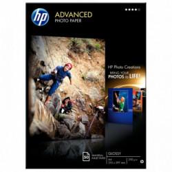PAPIER PHOTO JET D'ENCRE HP Q8698A A4 250G ADVANCED BRILLANT 50 FEUILLES