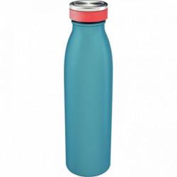 BOUTEILLE ISOTHERME 500ML BLEU SANS BPA OK LAVE VAISSELLE