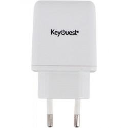 CHARGEUR SECTEUR USB-C BLANC