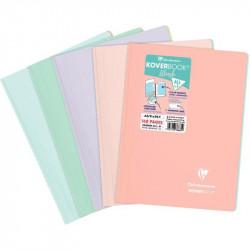 RELIURE INTÉGRALE KOVERBOOK BLUSH, 160 PAGES, FORMAT A4, QUADRILLÉ 5X5