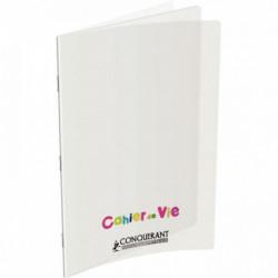 CAHIER DE VIE 96 PAGES LIGNÉES/UNIES, COUVERTURE POLYPROPYLÈNE, FORMAT 24X32 CM