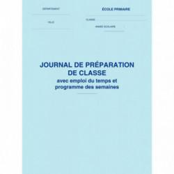JOURNAL PREPARATION DE CLASSE