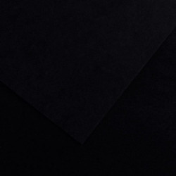 PAQUET DE 10 FEUILLES COLORLINE 50X65 CM 150 G NOIR