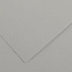 PAQUET DE 10 FEUILLES COLORLINE 50X65 CM 150 G GRIS CLAIR