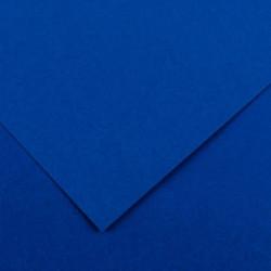 PAQUET DE 10 FEUILLES COLORLINE 50X65 CM 150 G BLEU ROI