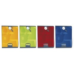 CAHIER PIQURE VERNIS 17x22 90G 32 PAGES SEYES 3MM PEFC