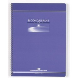CAHIER RELIURE INTEGRALE 24x32 70G 180 PAGES SEYES
