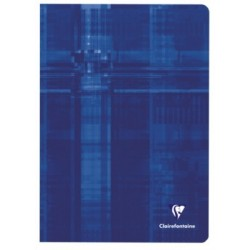 CAHIER PIQURE CLAIREFONTAINE 21x29,7 90G 48 PAGES SEYES PEFC