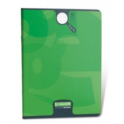 CAHIER PIQURE VERNIS 24x32 90G 96 PAGES SEYES PEFC