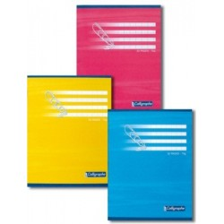 CAHIER PIQURE 17x22 70G 32 PAGES SEYES 4MM