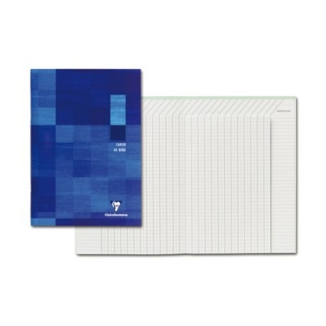 CAHIER DE NOTES DELEVES 21x29,7 44PAGES 110G PEFC