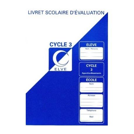 LIVRET SCOL.EVALUATION CYCLE 3