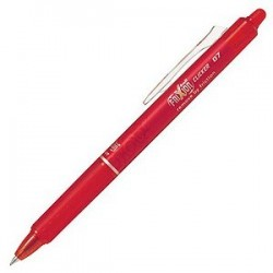 PILOT FRIXION CLICKER RETRACTABLE 0,7 MM ROUGE
