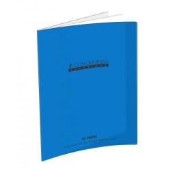 CAHIER POLYPRO BLEU 17x22 90G 32 PAGES SEYES