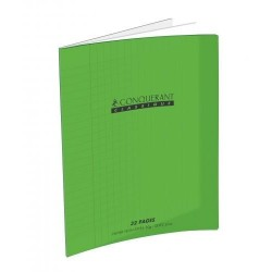 CAHIER POLYPRO VERT 17x22 90G 32 PAGES SEYES