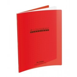 CAHIER POLYPRO ROUGE 17x22 90G 48 PAGES SEYES