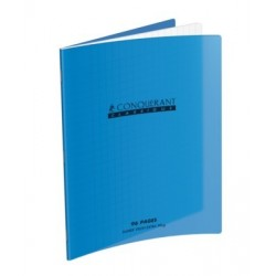 CAHIER POLYPRO BLEU 17x22 90G 96 PAGES SEYES