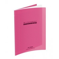 CAHIER POLYPRO ROSE 17x22 90G 96 PAGES SEYES
