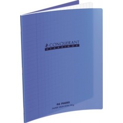 CAHIER POLYPRO VIOLET 17x22 90G 48 PAGES SEYES