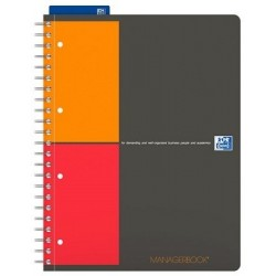 ORGANISER MANAGERBOOK A4+ 80 PAGES