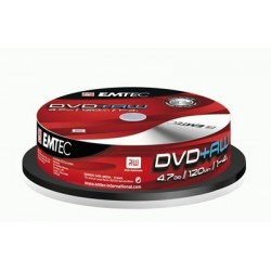 DVD+RW 4,7GB 4X SPINDLE (10)