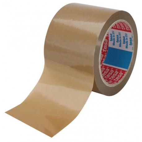 PQT 4 ADHESIFS TESA PVC HAVANE GD LARGEUR 75MMx66M 52µ