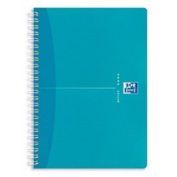CAHIER SPIRAL MY COLOURS A5 5x5 180P
