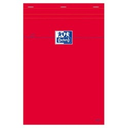 BLOCS OXFORD ROUGE AGR NON PERF 210 x 297 80GR Q55