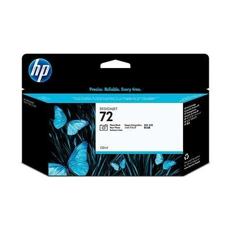 CARTOUCHE N°72 C9370A HP T610 NOIR PHOTO 130ML