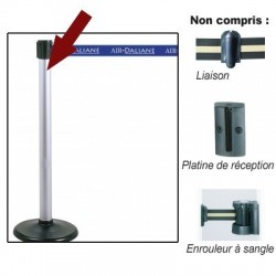POTEAU GUIDEFILE A SANGLE 96 CM