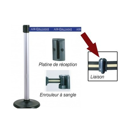 PIECE DE LIAISON POUR POTEAU GUIDEFILE A SANGLE 17605