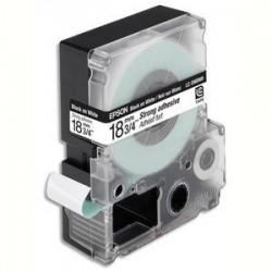 EPSON cassette pour LW400900P LC5WBW9 Adhésif Fort Noir sur Blanc 189 C53S626410
