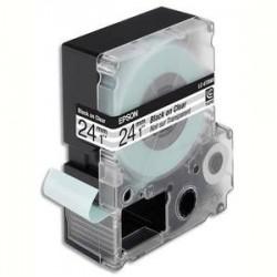 EPSON cassette pour LW900P LC6TBN9 Transparent Noir sur Transparent 249 C53S627403