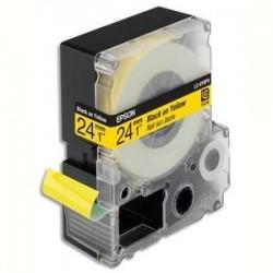 EPSON cassette pour LW900P LC6YBP9 Couleur Pastel Noir sur Jaune 249 C53S627401