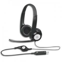 LOGITECH USB Headset, casque avec microphone H390981000406