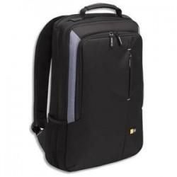CASE LOGIC Sac à dos Noir Nylon rembourré pour PC portable jusquà 17 33,4x55,4x8,3cm