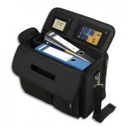 JUSCHA Pilot case Lightpak avec compartiment pour ordinateur portbale en nylon noir